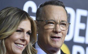 Tom Hanks y Rita Wilson donan su plasma para ayudar a la lucha contra el coronavirus