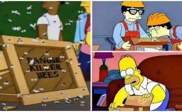 Los Simpsons predijeron el avispón asesino y coronavirus en un mismo capítulo