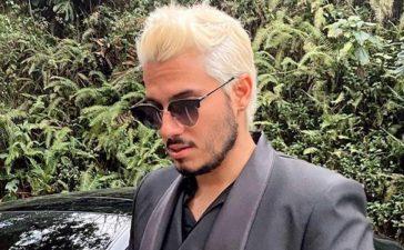 """Critican foto de Pipe Bueno, en vestido de baño, en la que se ve """"gordito"""" y está junto a Maluma"""