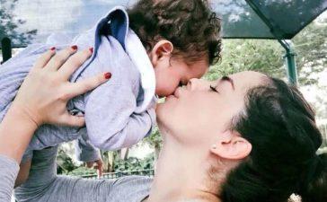 Danna García se reencontró con su hijo al dar negativo a coronavirus