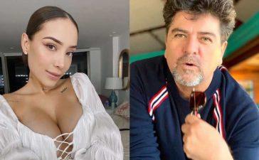 Luisa Fernanda W reaccionó a las burlas de Fabio Legarda por su embarazo