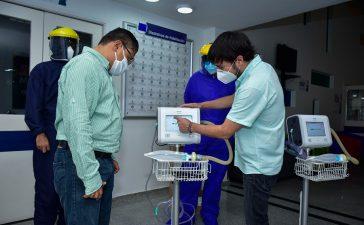 Barranquilla sigue ampliando su red hospitalaria para atender la pandemia