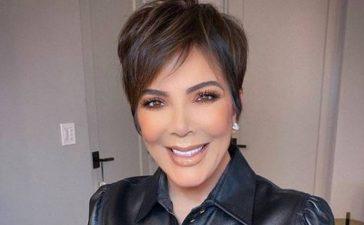 Kris Jenner infarta con un vestido transparente a sus 64 años y compite con las Kardashian por ser la más sexy