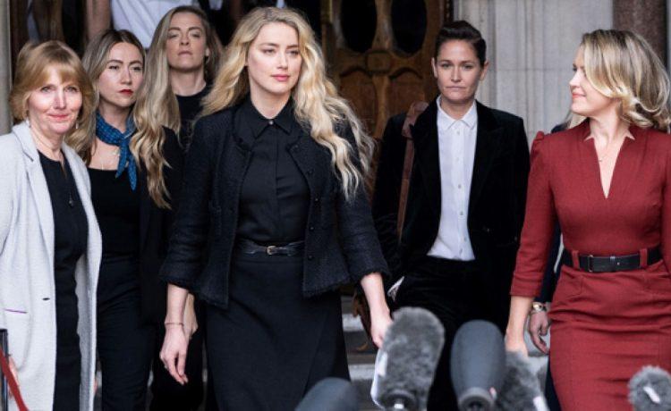 Terminó juicio entre Amber Heard y Johnny Depp