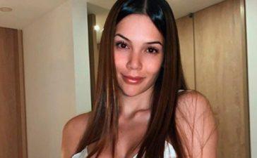 Lina Tejeiro fue sincera y dijo que le da gracia ver su cola un poco más grande