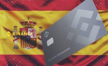 Binance lanza su tarjeta Visa con reembolso en criptomonedas para España y toda Europa