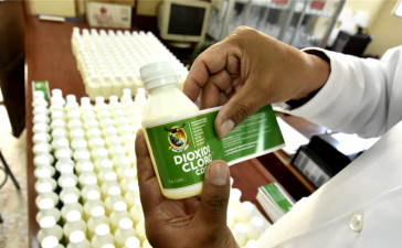 UPEA presentó producción de dióxido de cloro como medicina preventiva contra el Covid-19