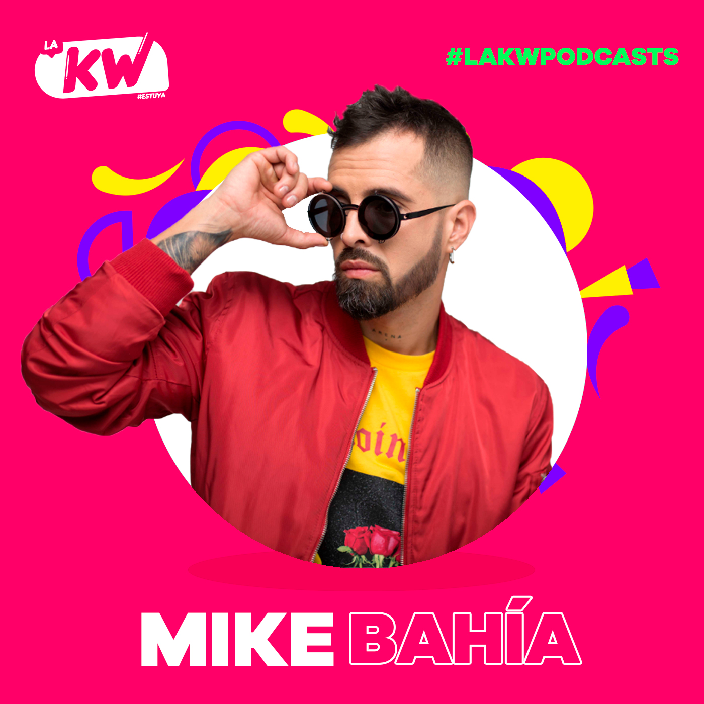 Mike Bahía en La KW