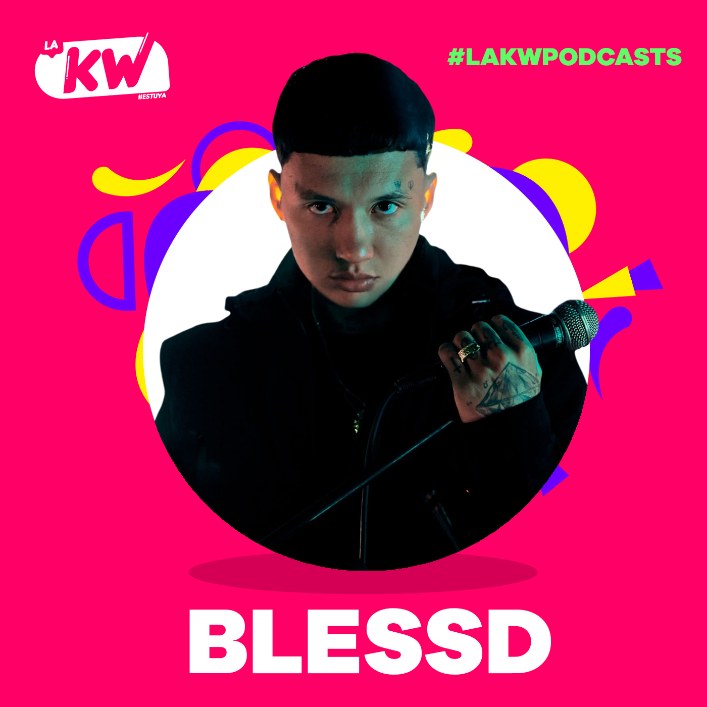 Blessd en La KW