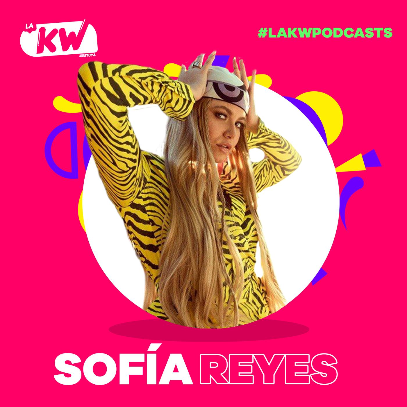 Sofía Reyes en La KW